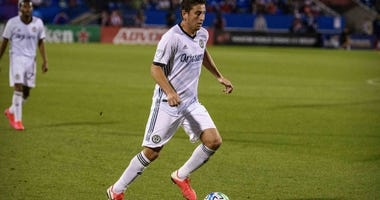 Philadelphia Union midfielder Alejandro Bedoya (11) in action.