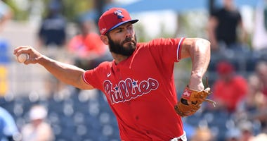 Philadelphia Phillies starting pitcher Jake Arrieta