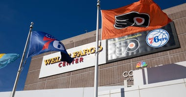 A general view of the Wells Fargo Center