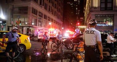 Police during Philadelphia riot
