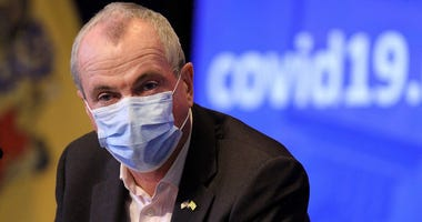 New Jersey Governor Phil Murphy listed to a question during his Friday, June 26, 2020