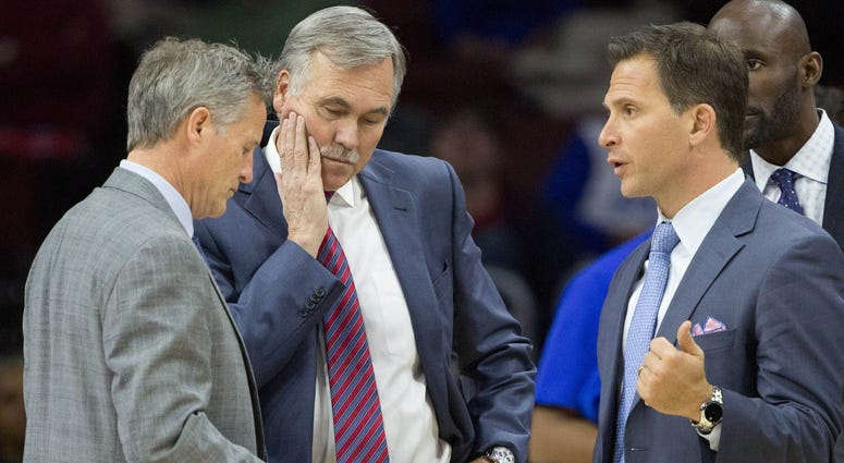 Brett Brown, Mike D'Antoni, Billy Lange
