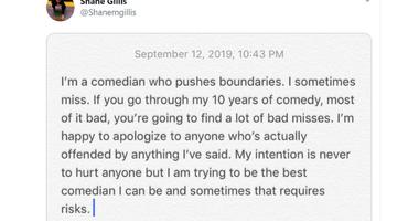Shane Gillis defends himself