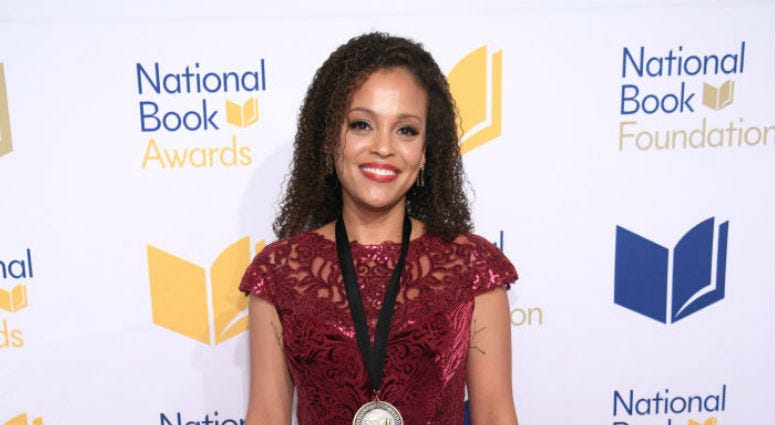 Jesmyn Ward attends the 68th National Book Awards at Cipriani Wall Street.
