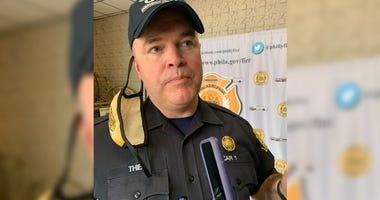 Fire Commissioner Adam Thiel
