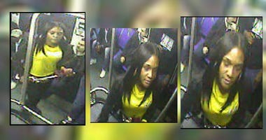 Pictures of a woman police say physically assaulted an elderly woman on a SEPTA bus in Northeast Philadelphia.