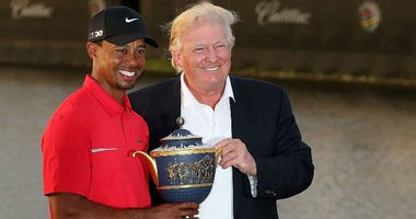 President Trump said that he'll award Woods with the Presidential Medal of Freedom, after Woods won his fifth Masters title over the weekend.