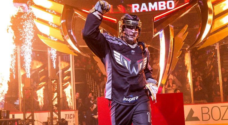 Philadelphia Wings forward Matt Rambo.