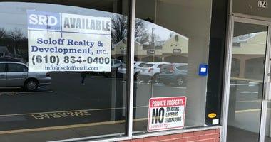 A retail store that has shut down.
