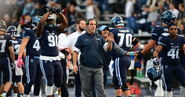 Villanova head football coach Mark Ferrante