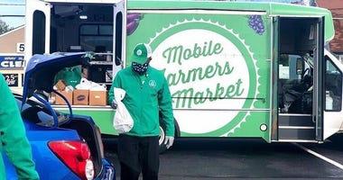 Virtua Health mobile food pantry