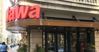 Wawa at Walnut and Broad streets in Center City, Philadelphia