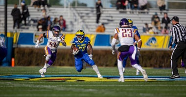 Delaware redshirt freshman running back Will Knight had 140 total yards and a touchdown in Saturday's loss to Albany.