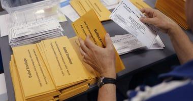 Minnesota election officials count absentee ballots