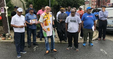 Anti-violence advocates gathered on a North Philadelphia corner Monday to sound the alarm on the number of shootings this past year.