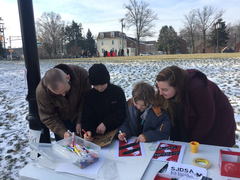 """""""Children are a part of our community, and they deserve to be listened to,"""" said Lauren Rowello."""