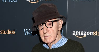 "FILE - In this Nov. 14, 2017 file photo, director Woody Allen attends a special screening of ""Wonder Wheel"" in New York. On Friday, April 12, 2019, an Amazon lawyer said the filmmaker breached his four-movie deal with the online giant by making statements"