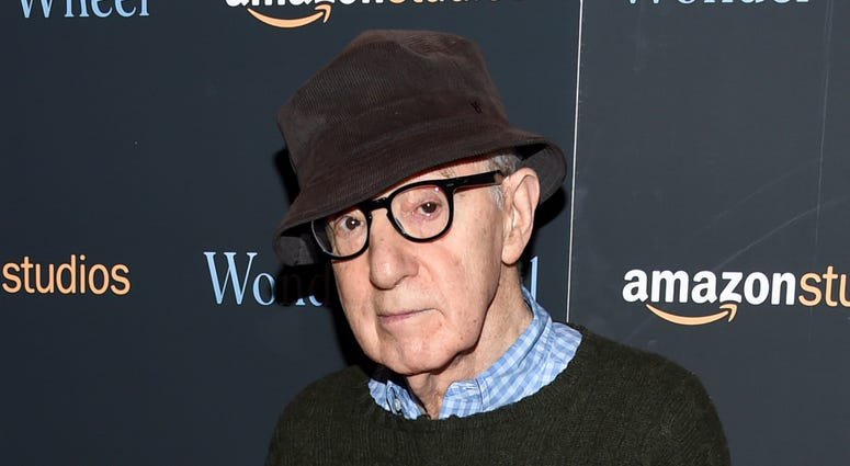 """FILE - In this Nov. 14, 2017 file photo, director Woody Allen attends a special screening of """"Wonder Wheel"""" in New York. On Friday, April 12, 2019, an Amazon lawyer said the filmmaker breached his four-movie deal with the online giant by making statements"""