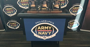 The Army-Navy media luncheon was at Lincoln Financial Field on Nov. 28.