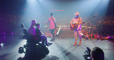 A wounded marine veteran from Reading was in for a big treat Saturday night at country music duo Florida Georgia Line's concert in Camden. Chris Kaag will be taking on new adventures  thanks to the country duo, the Independence Fund.