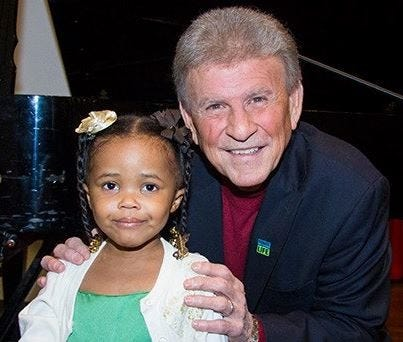 Assiah Phinisee and Bobby Rydell
