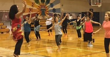 Shimmy, Shake & Socialize belly dance class in Wynewood