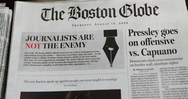 Boston Globe Threat