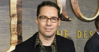 "This Dec. 2, 2013 file photo shows Bryan Singer at the Los Angeles premiere of ""The Hobbit: The Desolation of Smaug."""