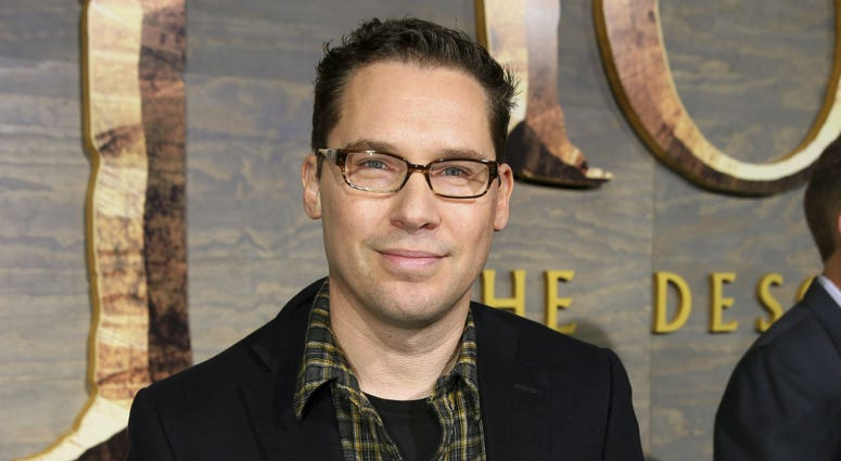 """This Dec. 2, 2013 file photo shows Bryan Singer at the Los Angeles premiere of """"The Hobbit: The Desolation of Smaug."""""""