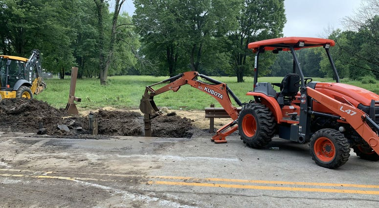 The rehab of the Byberry Road Bridge in Upper Moreland, Montgomery County is finished. But a major complication is preventing it from re-opening.