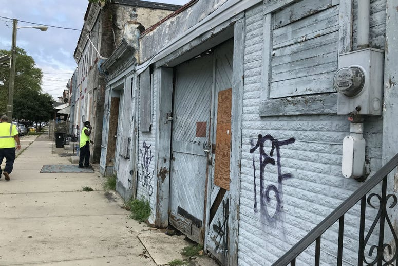 Camden County Police say they found the body of Curtis Jenkins III in an alley behind an abandoned business on Liberty Street.