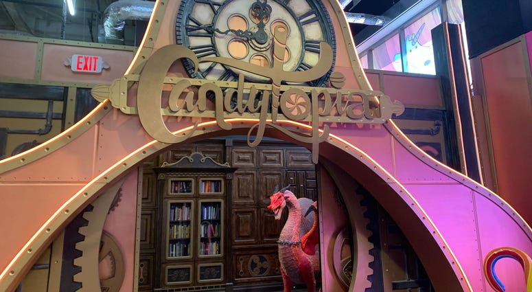Entrance to Candytopia.