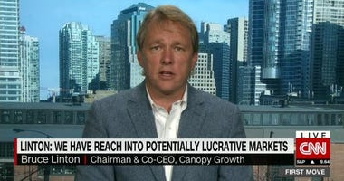Canopy Growth CEO Bruce Linton explains why he thinks regulators in the U.S. might relax federal restrictions.