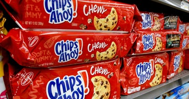 "Mondelez Global LLC is recalling 13-ounce packages of Chewy Chips Ahoy cookies due to an ""unexpected solidified ingredient,"" the company said."