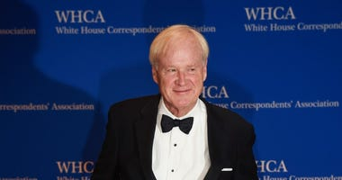 Political Commentator Chris Matthews arrives for the White House Correspondents' Association (WHCA) dinner in Washington, D.C., on Saturday, April 29, 2017.