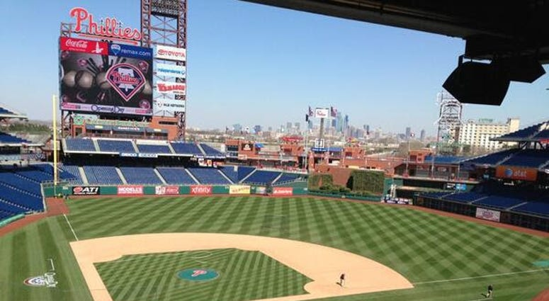 Citizens Bank Park will offer several new attractions for fans this coming season. Work has begun on a beer garden and sports bar.