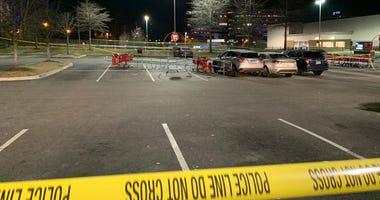 Target parking lot in Wynnefield Heights, Philadelphia