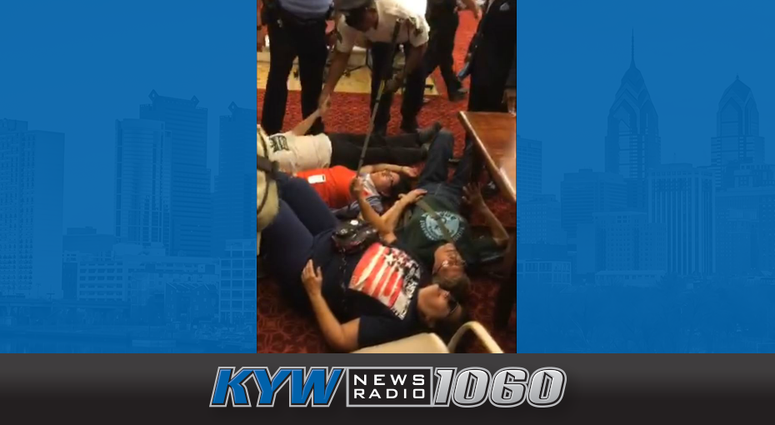 "Protesters disrupt Philadelphia City Council with a ""die-in"" for more low-income housing."