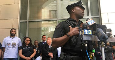 Philadelphia Police Officer Damien Stevenson, the former partner of Sgt. Robert Wilson III