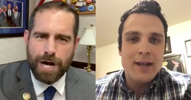 State Democratic Rep. Brian Sims (left) and state Republican Rep. Andrew Lewis (right)