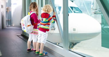What are the laws about plane tickets for unaccompanied minors?