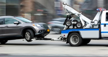 Police Tow Truck