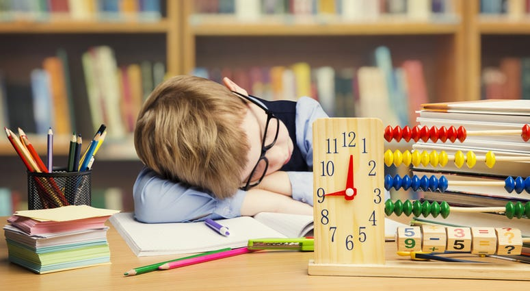 Back to School Sleep Routine