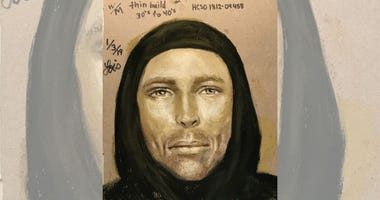 Fatal drive-by suspect sketch