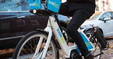 Indego e-bike