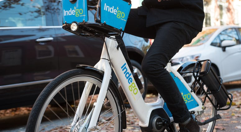 Indego e-bike