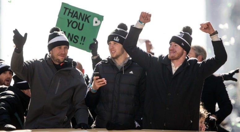 Eagles Super Bowl parade