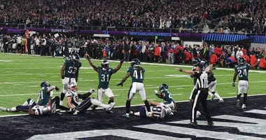 Eagles win the Super Bowl