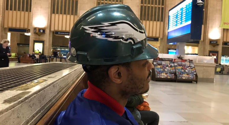 David McMear is one of many Eagles fans reacting to the team's playoff achievement.
