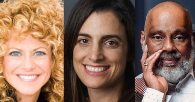 This week's panel includes Sharon Pinkenson, Rebecca Rhynhart, and Danny Simmons.